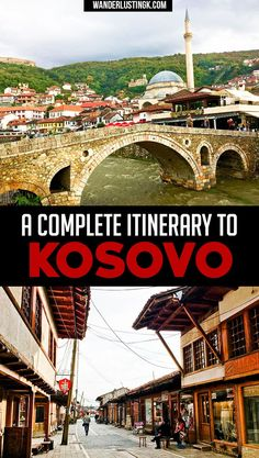 Planning a trip to Kosovo? A complete itinerary for your Balkan trip for Kosovo! Find out hte best places to visit in Kosovo & best day trips from Pristina