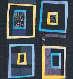 DS Designs Quilt Collection - Mental BlocksBlack Detail