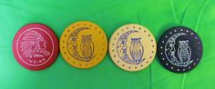 Wedgwood - Depression Glass - Poker Chips