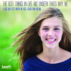 The best things in life are unseen. #quote