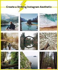 Establish a distinct Instagram aesthetic that is visually-pleasing to users!