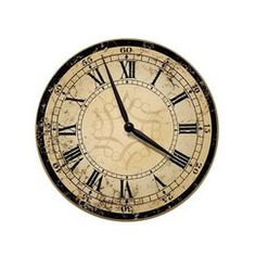 Target - Decorative Ecru Architectural Wall Clock Quick Information