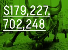 $179,227,702,248  Starting with $1,000 on Jan. 1, that's how much money someone would have had by Dec. 23 if they had played the stock market perfectly in 2014.