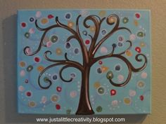 thumb print tree.  a possibility for my new house.