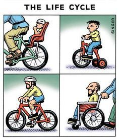 Today we have been looking for the worlds funniest cartoon strips. Best Picture For Cycling Quotes Cycling Memes, Cycling Quotes, Cycling Art, Cycling Tattoo, Bicycle Quotes, Motorcycle Quotes, Bike Humor, Big Ride, Bicycle Art