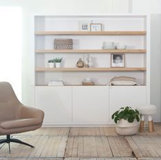 Have a look at this neat rustic bedroom furniture - what an inventive design and development Living Room Shelves, New Living Room, Home And Living, Cheap Furniture, Furniture Decor, Furniture Stores, Furniture Market, Discount Furniture, Küchen Design