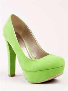 Qupid Marc-01 - Lime Suede PU | Shop Qupid Shoes