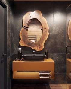 While the whole world is going eco-friendly in every aspect, your home should not be left behind; so, here are tips to create an eco-bathroom. Lavabo Design, Washbasin Design, Eco Bathroom, Modern Bathroom, Washroom, Loft Design, House Design, Dream Bath, Modern Shower