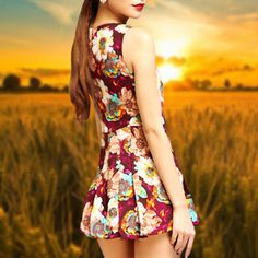 Just as long as you are happy #dress #summer outfit #street fashion #style #pretty