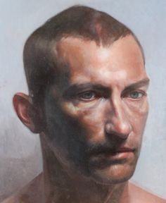 Andrew - Painting by Daniel Hughes