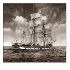 19th Century Sailing Photographs | 19th Century Sailing Ships / California2