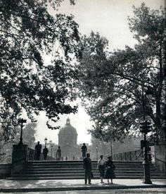Janine Niepce - Pont des Arts - Paris 1950s.
