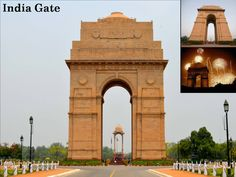 Opt our #Delhi&Agra Tour Package to visit #IndiaGate & give tribute to all the soldiers who lost their lives.