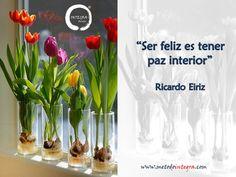 Ser feliz es tener paz interior