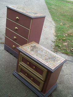 "I have been working out of my home where i ""up-cycle vintage furniture in many different ways,Here's just a few."