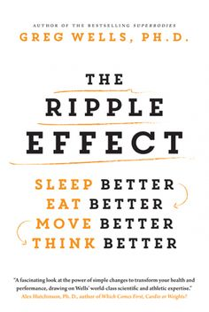 "Read ""The Ripple Effect Sleep Better, Eat Better, Move Better, Think Better"" by Greg Wells available from Rakuten Kobo. In his new book, Dr. Greg Wells offers concrete strategies on how to get better and stay better—not just for a few weeks. Book Club Books, Book Nerd, The Book, I Love Books, New Books, Good Books, The Words, Reading Lists, Book Lists"