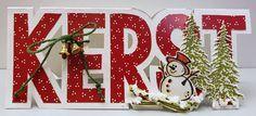 Kerst Company Christmas Cards, Christmas Cards To Make, Retro Christmas, Christmas 2017, Handmade Christmas, Christmas Crafts, Christmas Decorations, Holiday Decor, Workshop