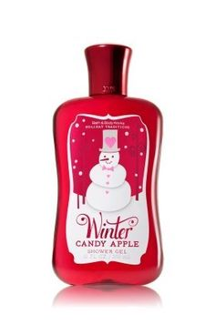 Bath and Body Works Winter Candy Apple Shower Gel 10 oz. 2012 by Bath & Body Works. $12.45. Super moisturizing shower gel, now enriched with shea butter for lather that bursts with fragrance. Exclusive Winter Candy Apple is a mouthwatering blend of crisp apple, candied orange and rich cinnamon spice.. Key Fragrance Notes: Candy Apple, Orange Zest. Your favorite holiday traditions are back! Enjoy softer, cleaner skin with our bubbliest lather ever, now enriched with ...