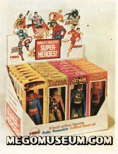 Vintage Toys Mego Toys for Sale 70s Toys, Retro Toys, Vintage Toys, Vintage Ideas, Childhood Toys, Childhood Memories, Old School Toys, Modern Toys, Toy Collector