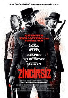 Directed by Quentin Tarantino. With Jamie Foxx, Christoph Waltz, Leonardo DiCaprio, Kerry Washington. With the help of a German bounty hunter, a freed slave sets out to rescue his wife from a brutal Mississippi plantation owner. Christoph Waltz, Don Johnson, Quentin Tarantino, Tarantino Films, Leonardo Dicaprio, Django Unchained, Mtv Movie Awards, 2012 Movie, Action Movies