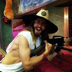 Jared (love the hat tho hahah)