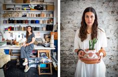 lauren manoogian is as cool as the clothes she makes, of course.