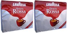 Lavazza Qualit Rossa Ground Coffee 4 Bricks  1 Kg 3527 Oz  Italian Import  >>> You can get more details by clicking on the image.