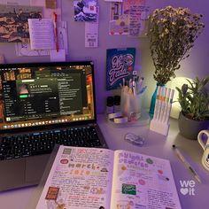 Study Room Decor, Cute Room Decor, Room Setup, Room Ideas Bedroom, Bedroom Decor, Calligraphy Pen Set, Otaku Room, Study Desk, Aesthetic Room Decor