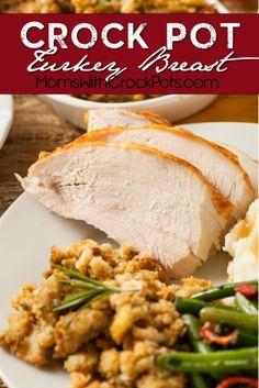 Crock Pot Turkey Breast Recipe. Perfect for Thanksgiving