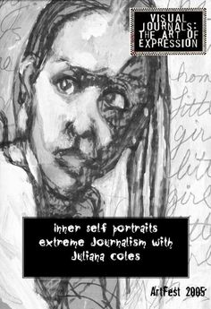 Inner Self Portraits Visual Journaling workbook, a classic from Artfest 2005 booklet, by Juliana Coles via Etsy