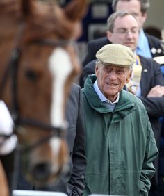 Prince Philip, Duke of Edinburgh attends day two of the Royal Windsor Horse Show on 9 May 2013 in Windsor, England
