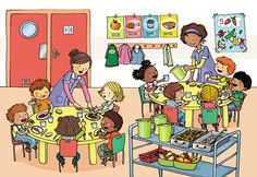 Typically there are stories that accompany each illustration. Speech Language Therapy, Speech And Language, Speech Therapy, French Lessons, English Lessons, Communication Orale, Math Talk, Hidden Pictures, Picture Story