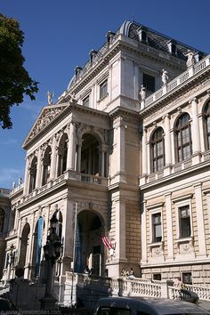 University of Vienna, Austria Places Around The World, Travel Around The World, Around The Worlds, Monuments, University Of Vienna, French Exterior, Heart Of Europe, Danube River, The One