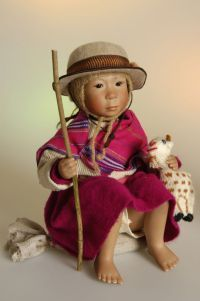 Collectible dolls of Bets and Amy Van Boxel