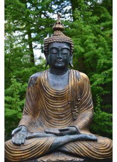 Boeddha Beeld Gold Varamudra 80 cm