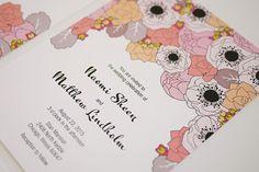 Spring Wedding Invitation Template by ThreeEggsDesign on Etsy, $39.00
