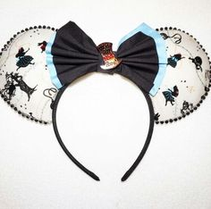 Alice In Wonderland - Inspired Minnie Mouse Disney Ears