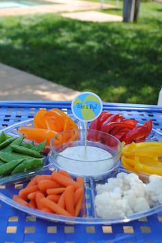 Pool Party Veggie Tray....from Jacolyn Murphy