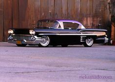 58 impala, Identical to my very first car, bought with my entire life savings $145. when I was 15 yrs. old.