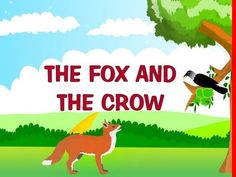 Watch this interesting video of the fox and the crow story in English, one of the much loved short stories (from Aesop's fables) kindergarten kids like to li. Short Moral Stories, English Stories For Kids, Moral Stories For Kids, Short Stories For Kids, English Story, English Lessons For Kids, Picture Story For Kids, Picture Books, Kindergarten Writing