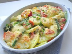 Snelle ovenschotel (vega) Vegetarian Recipes Dinner, Vegan Recipes, Dinner Recipes, Vegetarian Food, Healthy Diners, Oven Dishes, Perfect Food, Healthy Cooking, Healthy Life