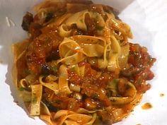 Tagliatelle al Sugo di Funghi (Tagliatelle with Mushroom Ragu) from FoodNetwork.com