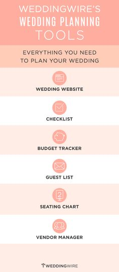 Everything you need to make wedding planning easy and fun! Sign up to start using these free planning tools!
