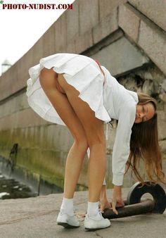 Апскирт мини юбка