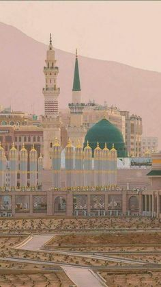 Islam ☪️ is peace ☮️ Islamic Images, Islamic Pictures, Islamic Art, Muslim Images, Al Masjid An Nabawi, Masjid Al Haram, Mecca Wallpaper, Islamic Wallpaper, Mosque Architecture