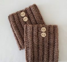Boot cuff leg warmers crochet and blocked soft wool by UtahWraps