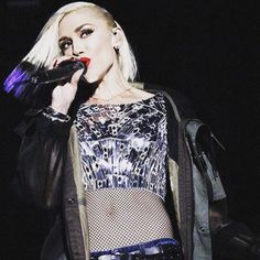 Gwen Stefani at Riot Fest.Styled by #RandM.