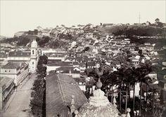 Juan Gutierrez. Morro do Castelo visto da Igreja do Carmo, c. 1894. Rio de janeiro, RJ / Acervo IMS