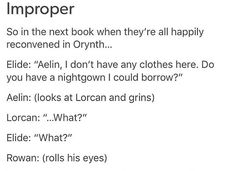 hahaha I'm actually looking forward for it to happen in the next book