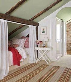 Hideaway bed via Country Living
